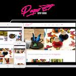 Tienda virtual (e-commerce) de detalles hechos en papel PaperWorks