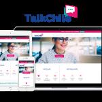 Sitio web corporativo para instituto de idiomas en Santiago, TalkChile